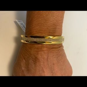 Michael kors stainless bracelet